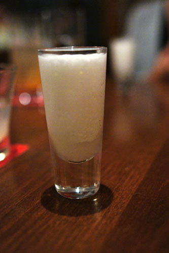 PISCO SOUR SHOT