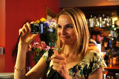 Diana Takes a Photo