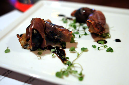 Grilled Prosciutto Wrapped Figs