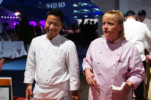 Chef de Cuisine Tetsu Yahagi & Pastry Chef Sherry Yard