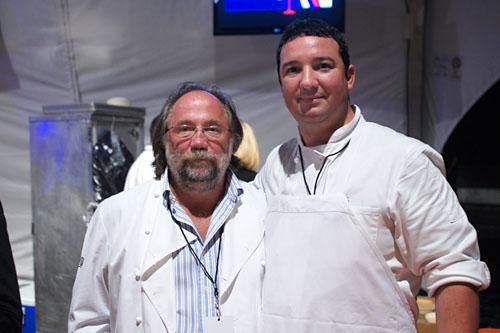 Chef Patron Joachim Splichal & Pastry Chef Joel Reno