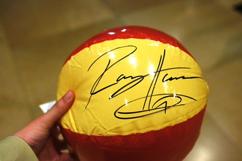 Rory Herrmann-Signed Ball
