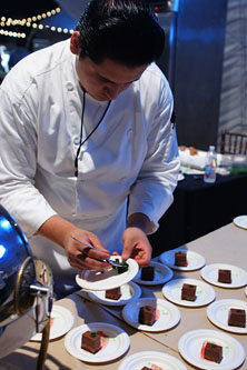 Plating Dessert