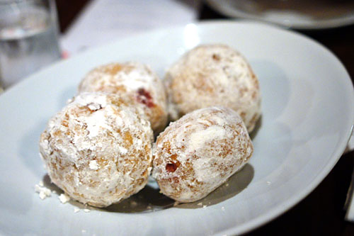 Foie Gras Powdered Donuts