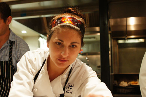 Chef Amanda Baumgarten