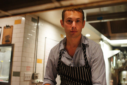 Chef Dylan Hallas