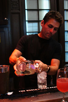 Making the Casa Noble Margarita