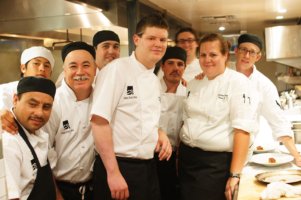 Chef Adam Horton and Crew