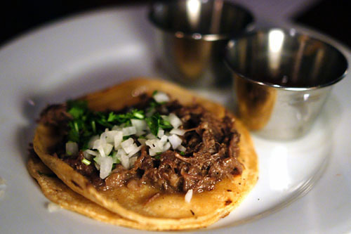 casa plasencia beef cheek taco