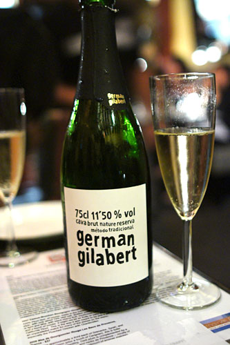 NV German Gilbert Cava, Brut Nature, Penedes, Spain