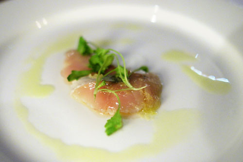 Salt-cured Spanish mackerel