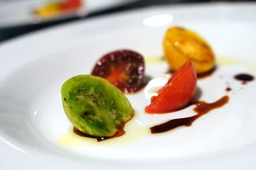 tomato. olive oil. saba.