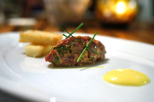 Bison Tartare