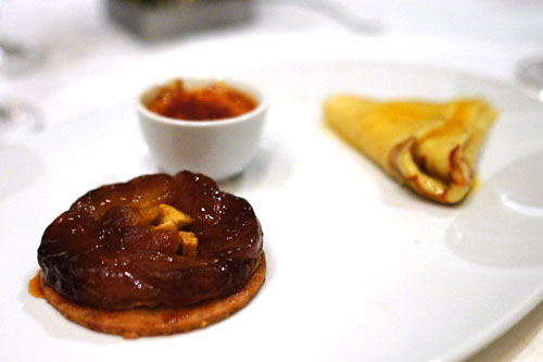 trio de dessert classique de maison bocuse