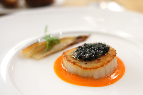 SCALLOP | LOBSTER ROE
