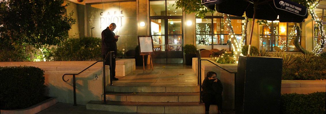 Café Pinot Exterior