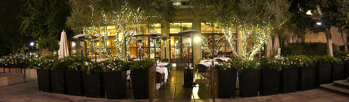Café Pinot Garden Patio