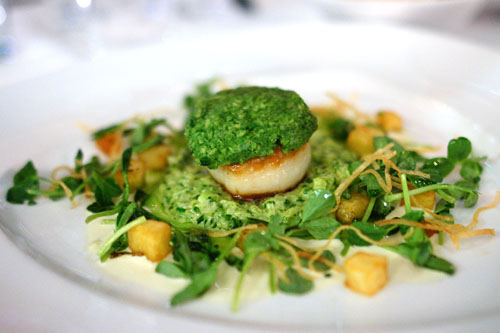 Pan Seared Diver Sea Scallop