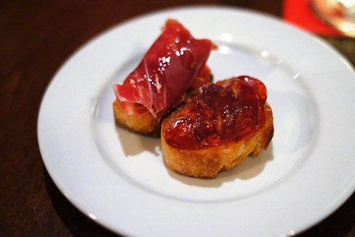 Iberico ham + Pan y Tomate