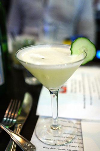 Yuzu Tequila Martini