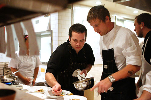 Klein De Bow, Michael Voltaggio
