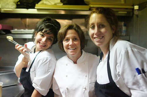 Amy Pressman and her chefs