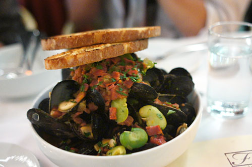 Bouchot Mussels