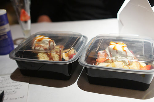 Tres Leches Cake To-Go