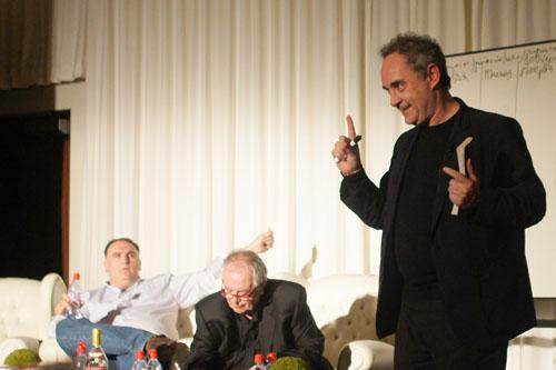 José Andrés, Juan Mari Arzak, Ferran Adrià