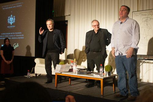 Ferran Adrià, José Andrés, Juan Mari Arzak