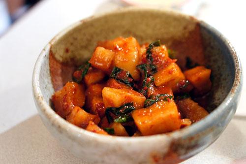 Home Made Radish Kimchi