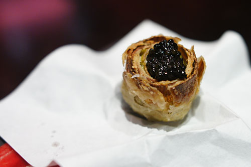 Artichoke with Caviar