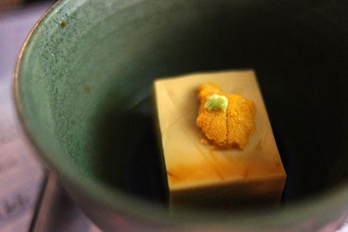 Yanagita seafarms uni goma tofu