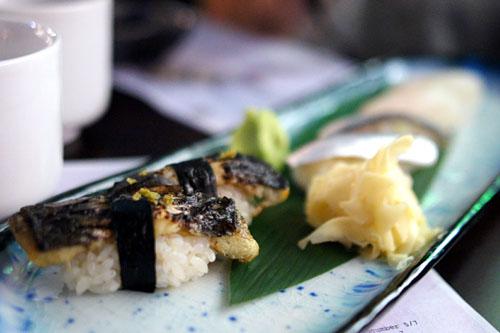 Live freshwater eel / Kohada / Shiromi