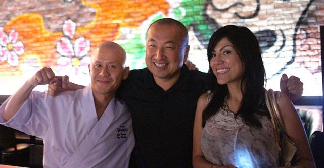 Hisa Kawabe, Tommy Tomioka, Josie Mora