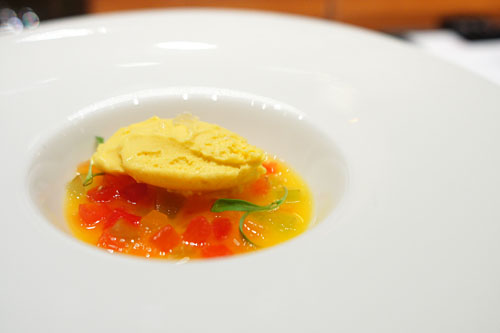 Heirloom Melon Gazpacho