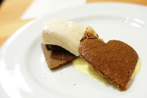 Smoked S'mores, House-Made Graham Crackers, Agave Marshmallow, Chipotle-Orange Ganache, Tequila Créme Anglaise
