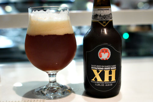 sochu barrel aged ale hitachino xh japan