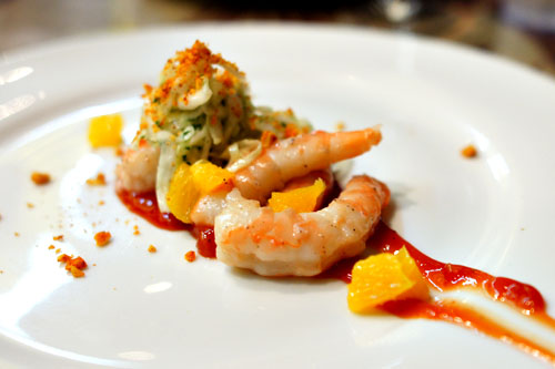 Chilled Poached Shrimp