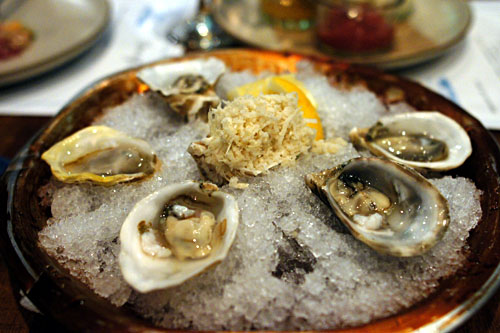 Oysters on the Half Shell, Condiments