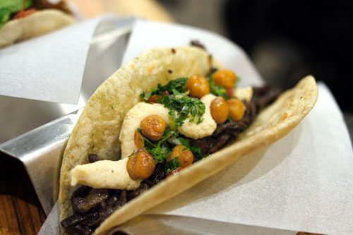 Wild Mushroom Taco