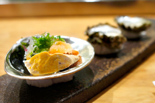 Ankimo & Kumamoto Oysters