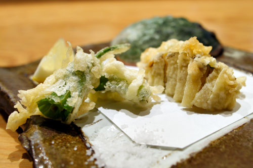 Abalone Tempura