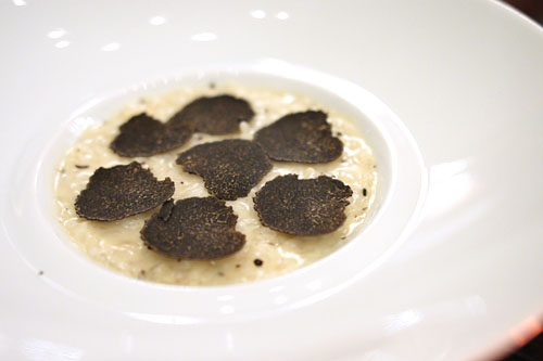 BLACK TRUFFLE RISOTTO