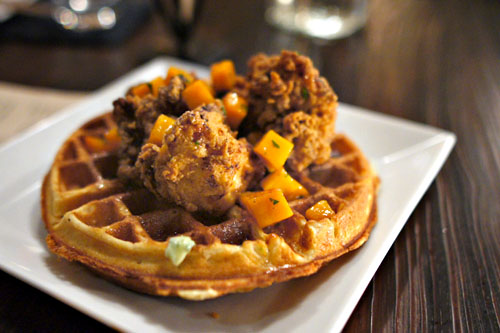 WOOD & VINE FRIED CHICKEN & WAFFLES