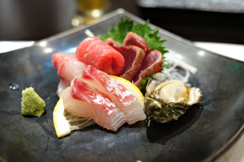 Sashimi Plate