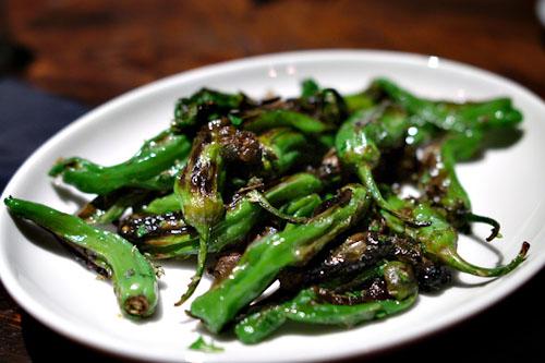 Friarelli peppers al forno