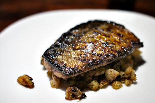 Grilled mackerel in scapece