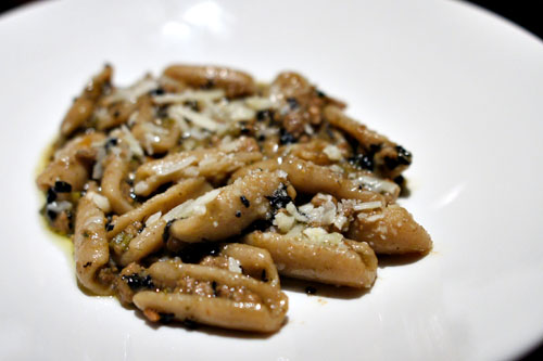 Toasted grain capunti