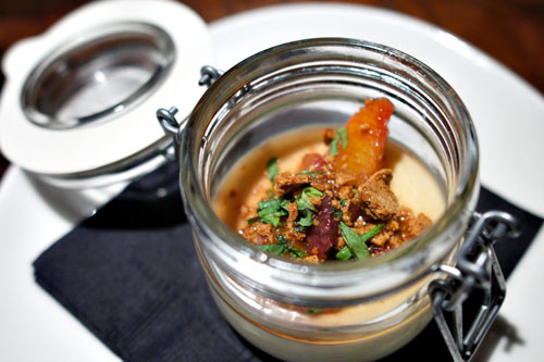 Sheep's milk yogurt panna cotta